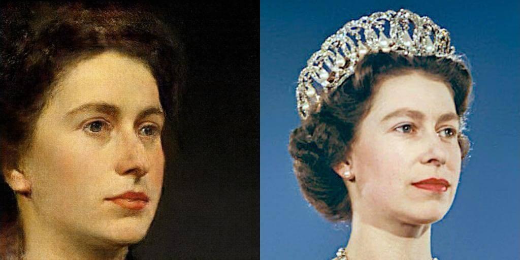 Portrait of Queen Elizabeth II by Portrait AI